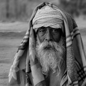 Holy man -III by Kaushik Dolui - People Portraits of Men ( portrait )