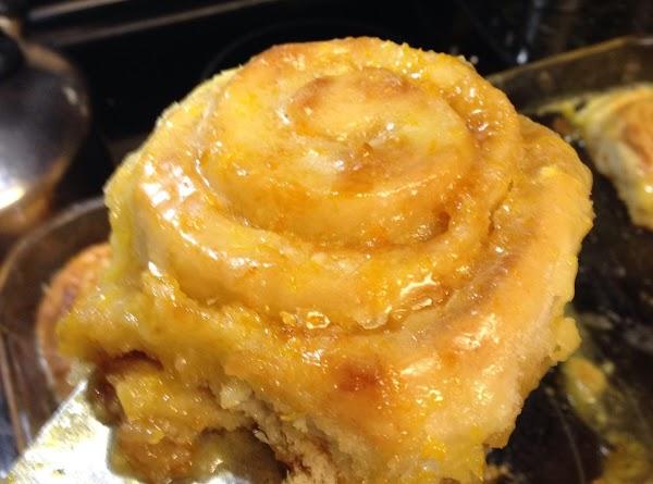 Orange & Easy Breakfast Rolls Recipe