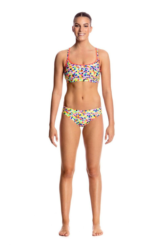 Funkita Ladies Sports TOP & BRIEF Hex On Legs - FS02L01684