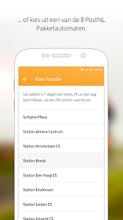 PostNL- screenshot thumbnail