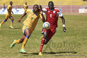 Photo: JacquesTUYISENGE (9) [Rwanda vs Sudan, CECAFA 2015, Semi final, 3 Dec 2015 in Addis Ababa, Ethiopia.  Photo © Darren McKinstry 2015, www.XtraTimeSports.net]