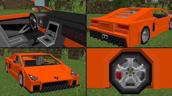 Mod Sports Cars 2018 for MCPE - náhled