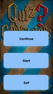 Quiz of Harry Potter Character - screenshot