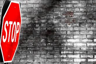 Photo: Stop Sign -- Washington, D.C.  #grungeday