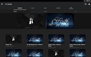 Screenshot of The Heights Baptist Church App