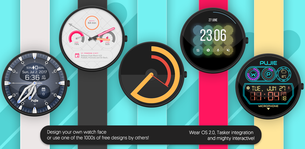 Download Watch Face - Pujie Black for Wear OS APK latest version 4 1 12 for  android devices