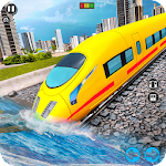 Underwater Bullet Train Simulator : Train Games icon