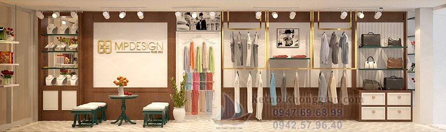 thiết kế cửa hàng thời trang hoàn hảo độc đáo