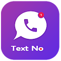 Free TextNow - Call & SMS free US Number Tips icon