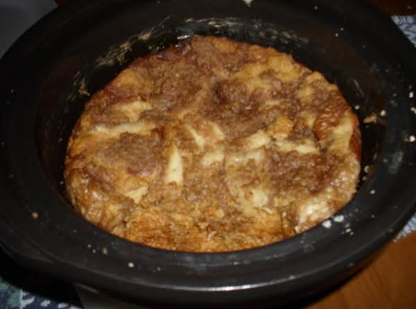 Crockpot Peachy French Toast