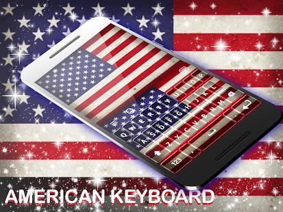 Americká klávesnice - náhled
