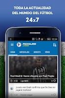 Screenshot of Fichajes: mercado fútbol