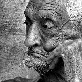 Oldy by Avishek Mazumder - People Portraits of Men ( senior citizen )