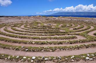 Photo: Stone circle atKa'anapali.