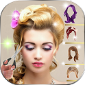Stylish HairStyle Photo Editor icon