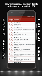 SMS, Call – XML, PDF, CSV(Super Backup & Restore) App Download for Android 4