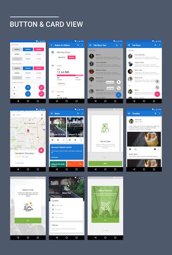 MaterialX - Android Material Design UI 2.2 screenshots 1
