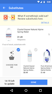 Google Express Screenshot 5