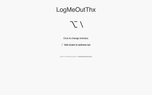 LogMeOutThx
