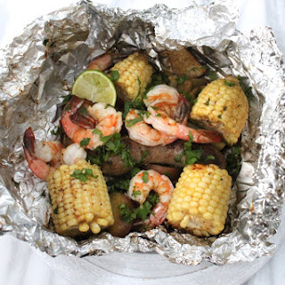Cilantro Lime Grilled Seafood Boil