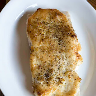 Luby's Cafeteria Baked White Fish.