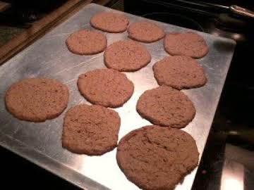 Nuttella and oatmeal cookies