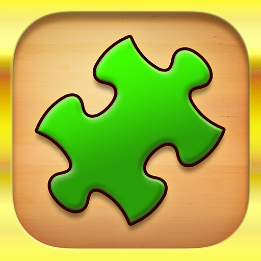 Jigsaw Puzzle: Create Pictures with Wood Pieces Icon