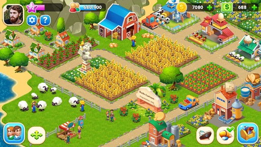Farm City : Farming & City Building  screenshots 1