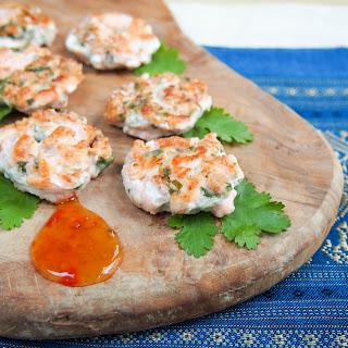 Mildly-Thai salmon cakes