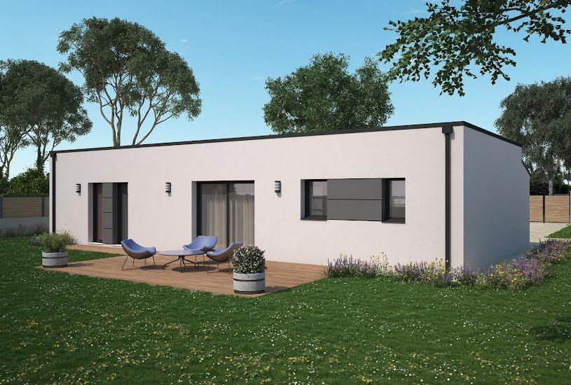 Vente Terrain + Maison - Terrain : 400m² - Maison : 87m² à Poitiers (86000)