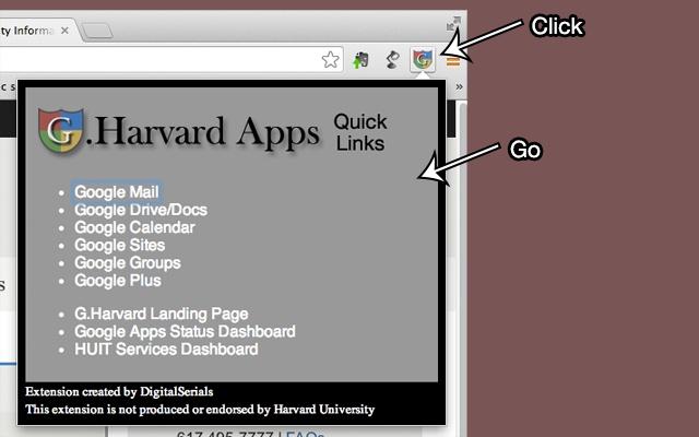 G.Harvard Quick Links