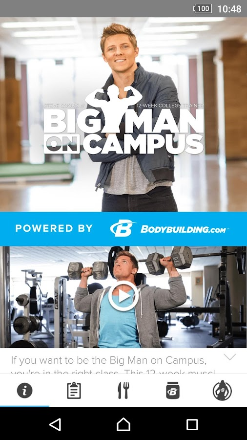 Steve Cook Big Man On Campus- screenshot
