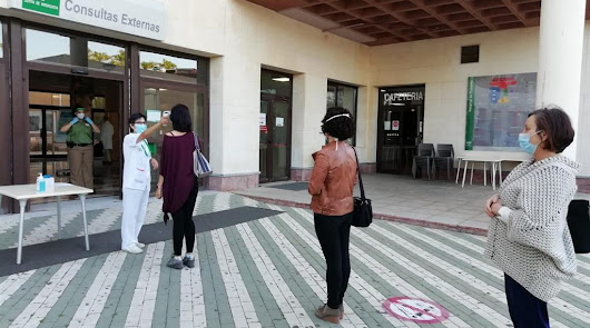 El coronavirus en Almería deja datos que solo se dieron en los peores días