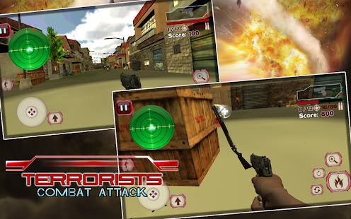 Terrorist Combat Attack- screenshot thumbnail