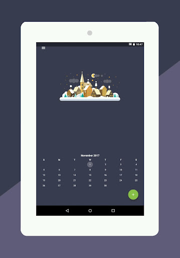 Calendar 2018 - Diary, Holidays and Reminders for PC