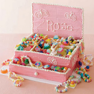Princess Jewelry Box Cake