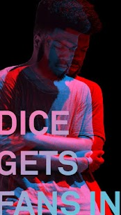 DICE: Tickets for Live Music Shows - náhled