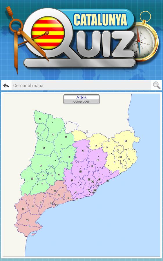 Catalunya Comarques Geografia  Aplicaciones de Android en Google Play