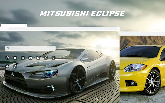 Mitsubishi Eclipse HD Wallpapers New Tab