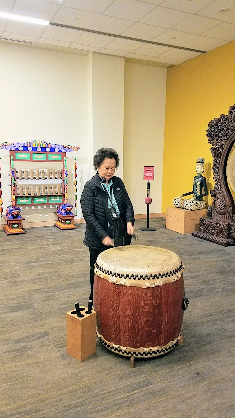 Music Instrument Museum (MIM) Experience Gallery, where you can try your hand at playing instruments yourself from around the world.