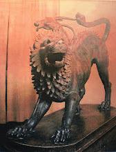 Photo: Fig. 12. Chimera di Arezzo, bronzo. Firenze, Museo Archeologico.