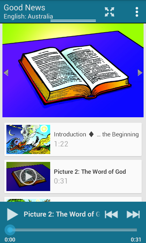 Gospel in Every Language 5fish- screenshot