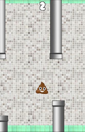 Super Flappy poop
