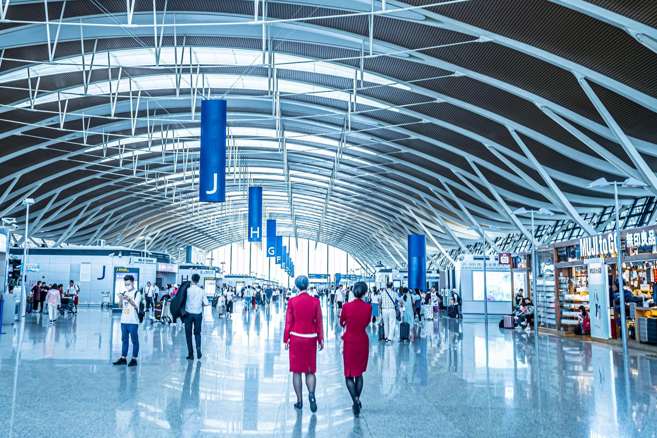 上海浦東国際空港1