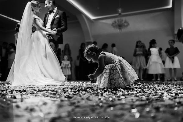 Wedding photographer Roman Karlyak (4Kproduction). Photo of 09.08.2017