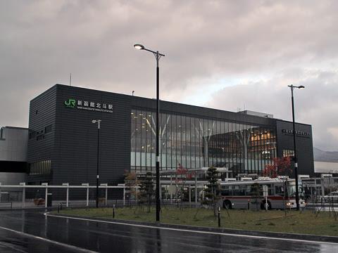 函館バス「高速はこだて号」 T3267 JR新函館北斗駅