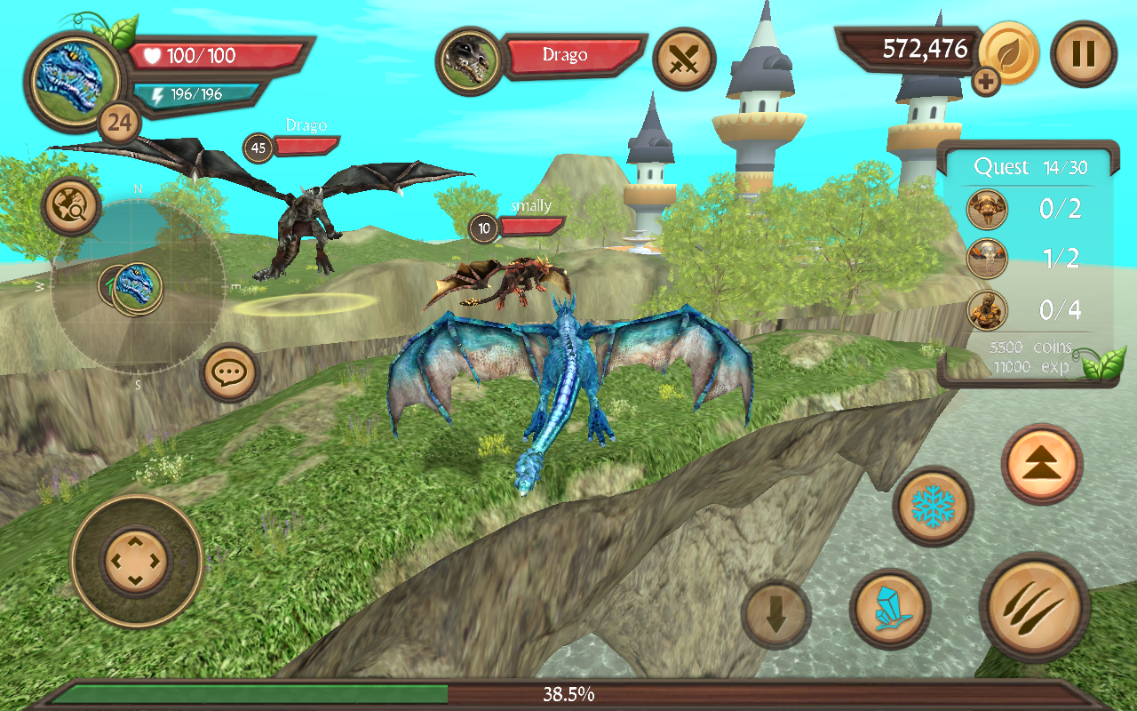 dragon online free games