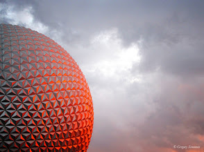 Photo: April 6, 2012 - Epcot at Sunset #creative366project curated by +Jeff M and +Takahiro Yamamoto #under5k