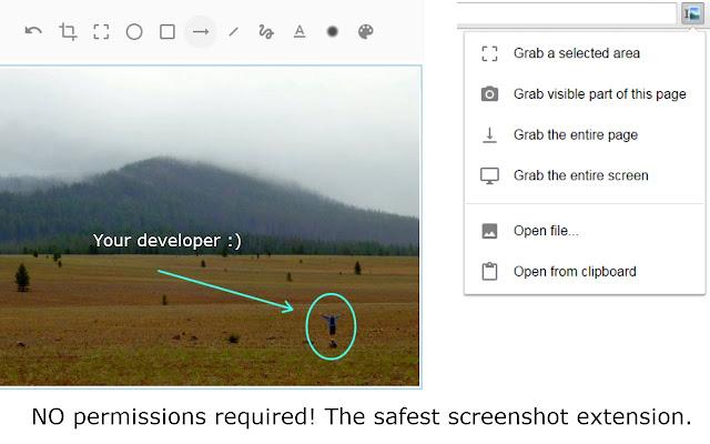 Capture, Explain and Send Screenshots chrome extension