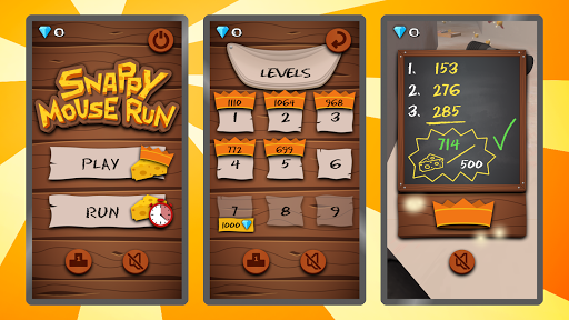 Snappy Mouse Run - Dizzy Running apktram screenshots 18